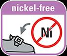 Nickel-free